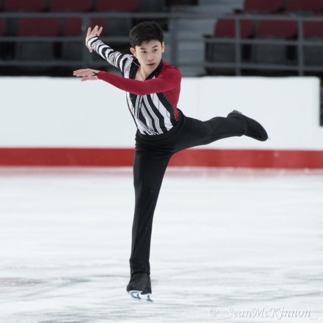 AlexisLay patineur artistique championnat canadien Photo SeanMcKinnon via CPAV