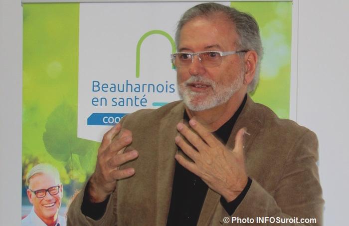 ClaudeHaineault maire Beauharnois fev2017 Photo INFOSuroit