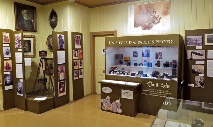 Exposition Clic et declic au Musee regional Photo Bernard_Bourbonnais courtoisie MRVS