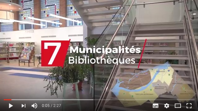 capture ecran video YouTube bibliotheques MRC Beauharnois-Salaberry
