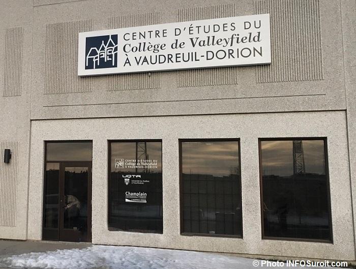 centre etudes college Valleyfield Vaudreuil-Dorion Photo INFOSuroit