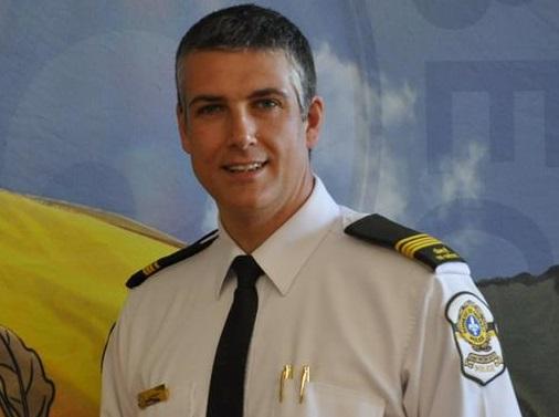 lieutenant Marc_Robert SQ Beauharnois_Salaberry Photo courtoisie SQ