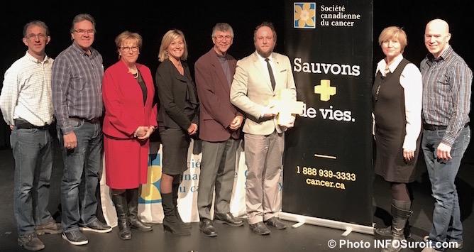 partenaires president comite organisateur ambassadeur relais pour la vie Chateauguay Photoà INFOSuroit