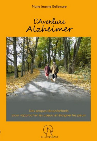 pochette livre L_aventure Alzheimer de MJBellemare Image courtoisie