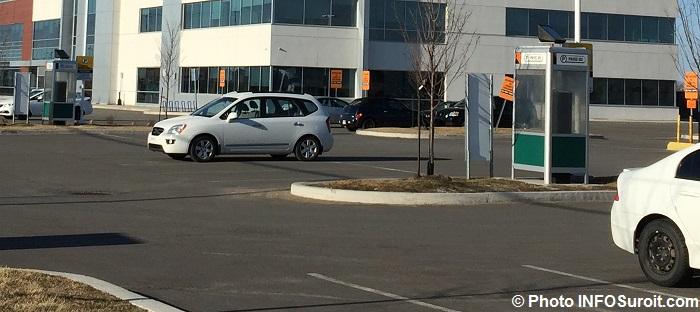 stationnement payant CLSC Vaudreuil-Dorion Photo INFOSuroit