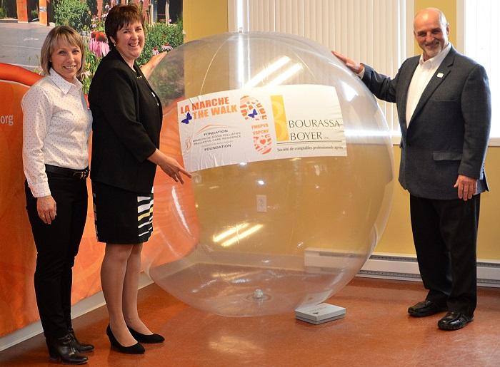 CaroleCharrette de BourrassaBoyer JacinteDemers DG MSPVS et GuyPilon maire Vaudreuil-Dorion Photo MSPVS