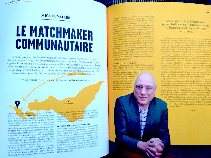 Créer l'extraordinaire – Michel Vallée dans Urbania