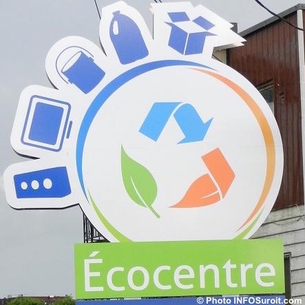 panneau Ecocentre matieres residuelles a Beauharnois Photo INFOSuroit