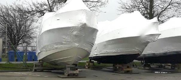 recuperation baches pellicules plastique bateaux Photo courtoisie MRC