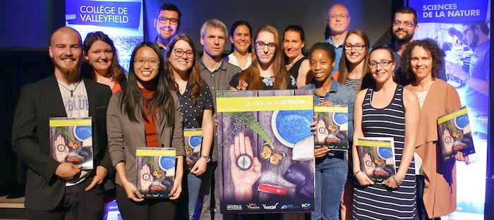 CollegeValleyfield RevueScientifique2017 membres comite Photo courtoisie ColVal