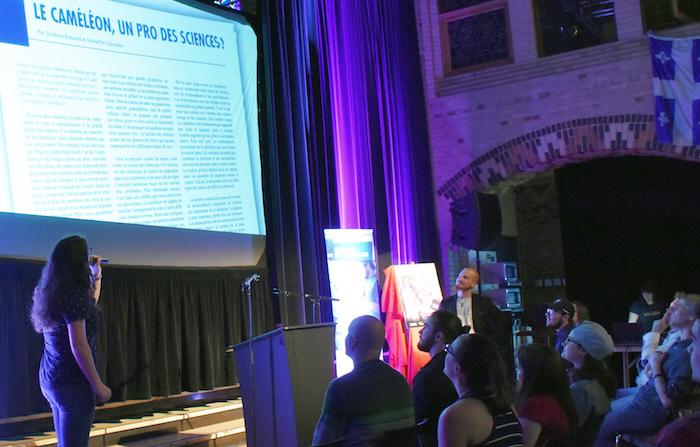 CollegeValleyfield lancement RevueScientifique2017 presentation photo courtoisie