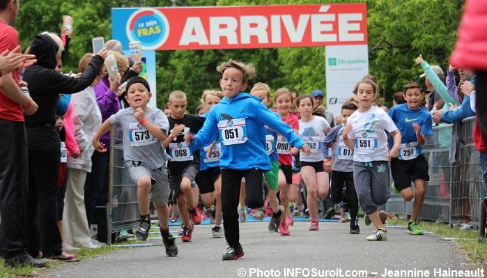 DefiFRAS 2016 volet jeunes participants course photo INFOSuroit-Jeannine_Haineault