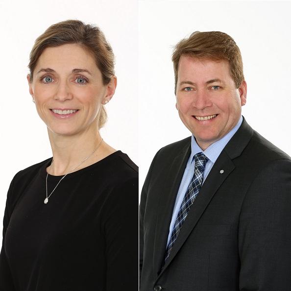 2 présidents pour le Tournoi de golf de la Fondation de l'Hôpital
