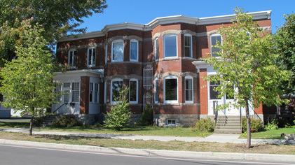 Maisons patrimoine rue Dufferin Valleyfield Photo courtoisie SdV