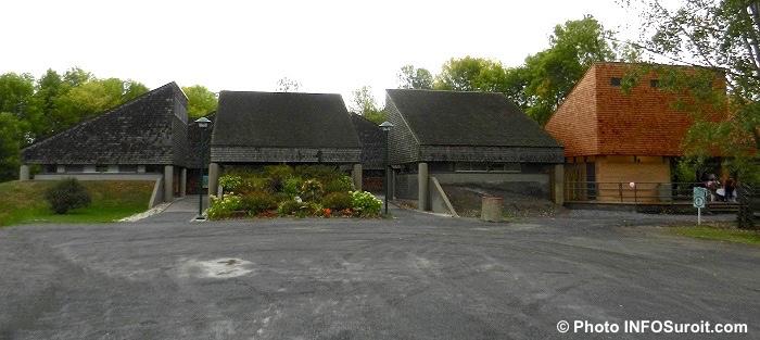 accueil et pavillon multifonctionnel Pointe-du-moulin-ile-Perrot Photo INFOSuroit