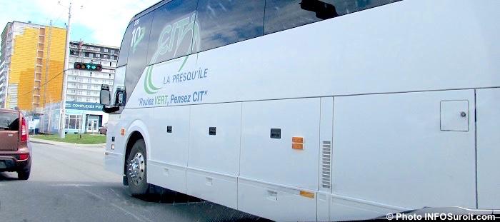autobus CITLaPresquile Vaudreuil boul de la Gare Photo INFOSuroit