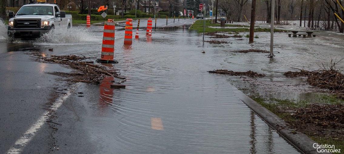 inondations mai2017 ave St-Charles Vaudreuil-Dorion Photo ChristianGonzalez