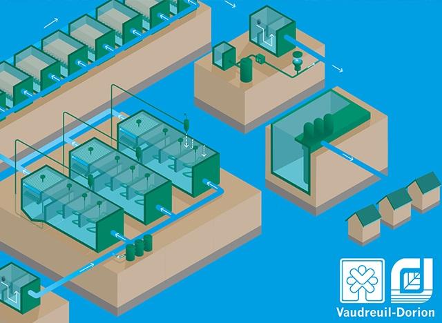 visuel invitation portesouvertes usine filtration eau Vaudreuil-Dorion