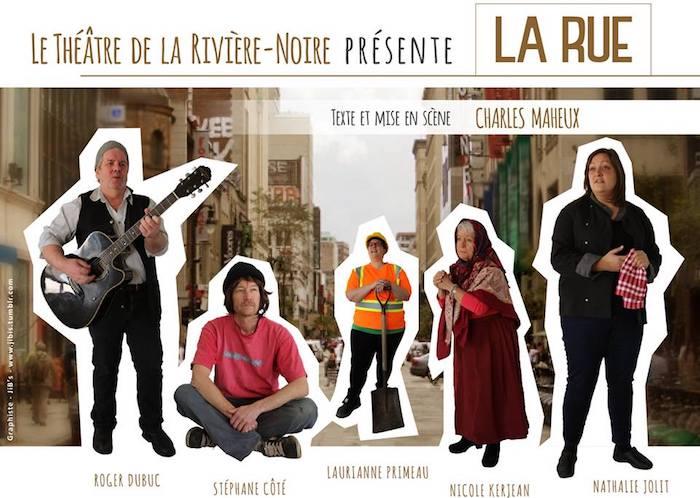 affiche theatre_de_la_riviere_noire La_rue image courtoisie