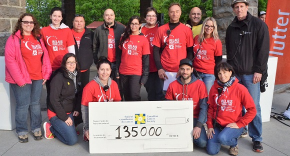 cancer Relaispourlavie Valleyfield 2017 montant comite organisateur Photo PatriceLavigne