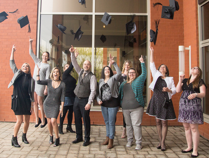 finissants 2016-2017 UQTR hors-campus Valleyfield Vaudreuil Photo courtoisie UQTR