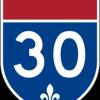 Châteauguay : Remise en fonction des 2 voies de l'échangeur A-30