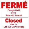 Plusieurs services des CSSS fermés pour la Fête du Travail