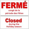 Horaire des Fêtes aux CSSS du Haut-Saint-Laurent et du Suroît