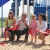 Inauguration du parc-école St-Paul à Beauharnois