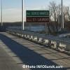 Le pont Galipeault sur l'autoroute 20 est rouvert