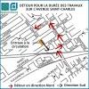 Travaux sur l'avenue Saint-Charles
