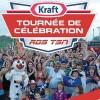 St-Étienne-de-Beauharnois reçoit la Tournée Célébration Kraft RDS