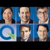 Les candidats à la direction du Parti Québécois dans la région