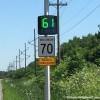 Des radars pédagogiques sur la route 132 à Léry