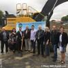 Pelletée de terre pour le nouvel hôtel de ville d'Ormstown