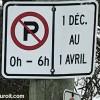 Dès le 1er décembre : Interdiction de stationner de nuit