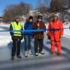Ouverture officielle de la patinoire sur la rivière Rigaud