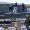 Notre Maison – Les modules d'habitation prennent la route