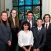 Des étudiants du Collège Héritage à l'Assemblée nationale