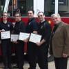 17 employés municipaux honorés à Rigaud