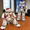 Intelligence artificielle : 2 robots Nao au Collège de Valleyfield