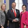 Médaille du civisme pour Daniel Lauzon de  N-D-de-l'île-Perrot