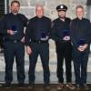 Quatre pompiers de Saint-Louis-de-Gonzague honorés
