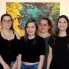 Des étudiants du Cégep à l'Intercollégial d'Arts visuels à Mtl