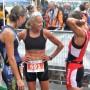 Jacqueline Gareau s'amuse lors de triathlon comme celui de Valleyfield