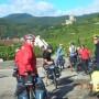 Des retraités du Suroît font du cyclisme sur la route des vins en Alsace