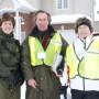Première campagne porte-à-porte du Comité d'action des citoyens en sécurité publique de Pointe-des-Cascades
