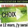 Budget du Québec : Le Collectif montérégien de la lutte contre la pauvreté nous invite à la mobilisation nationale du 12 mars