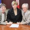 Châteauguay est officiellement propriétaire de l'Île St-Bernard