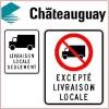 La quiétude des Châteauguois protégée – Circulation limitée pour les camions